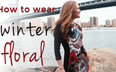 Fall trends for women over 40 – winter floral